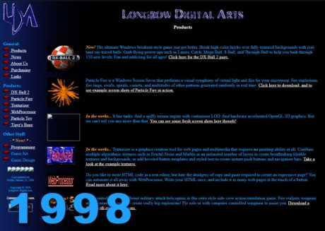 Allgemein: Longbow Website 1998