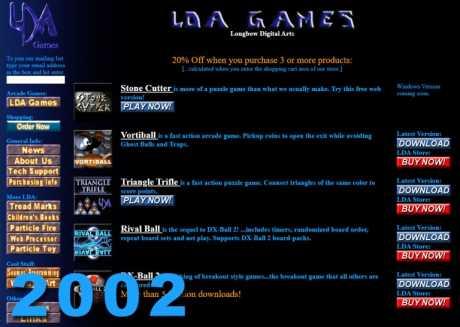 Allgemein: Longbow Website 2002