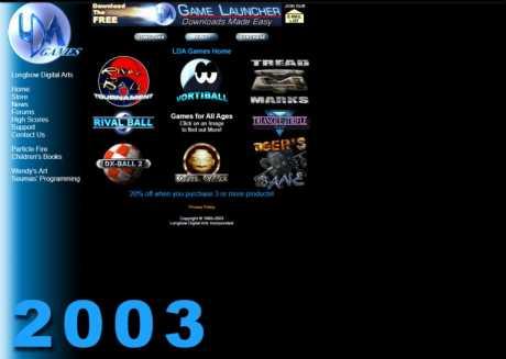 Allgemein: Longbow Website 2003