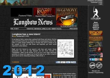 Allgemein: Longbow Website 2012
