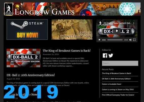 Allgemein: Longbow Website 2019