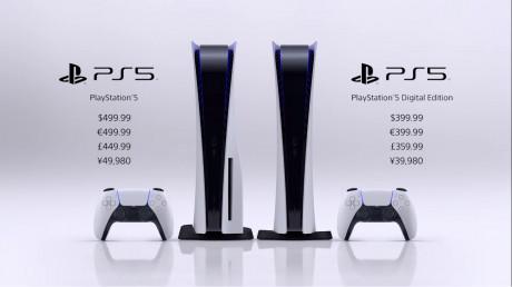 Allgemein - Sony veröffentlicht Preis für Playstation 5 und Digital