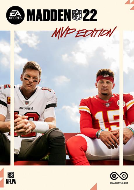 Allgemein - EA SPORTS kündigt Madden NFL 22 an - Tom Brady und Patrick Mahomes auf dem Cover