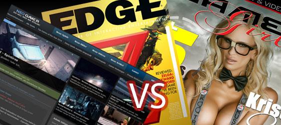 Spielemagazine - Online vs Print?