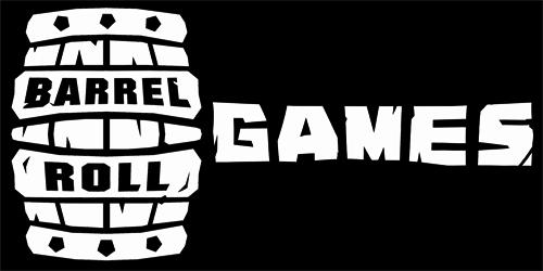 Entwickler Barrel Roll Games Logo