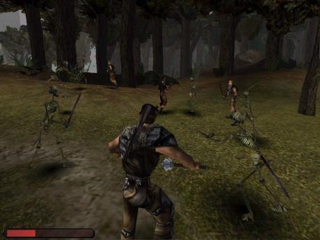 Gothic 1: Screen zum Spiel.