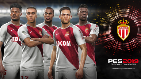Pro Evolution Soccer 2019: AS Monaco - Partnerschaft