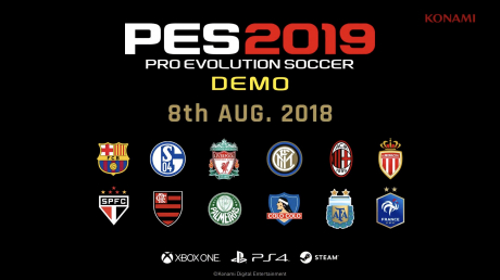 Pro Evolution Soccer 2019: DEMO Ankündigung
