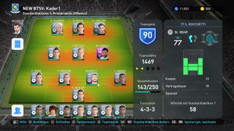 Pro Evolution Soccer 2019: Screenshots aus dem Spiel
