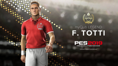 Pro Evolution Soccer 2019: Totti - Im Game PES2019