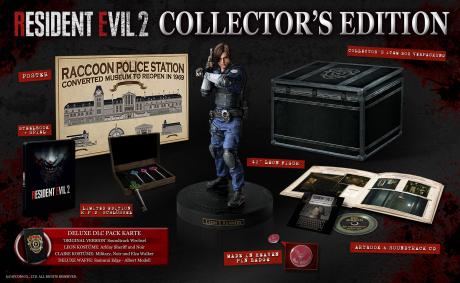 Resident Evil 2 2019 - Titel wird komplett ungeschnitten erscheinen - Collectors Edition vorgestellt