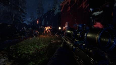 Earthfall: Screen zum Spiel.