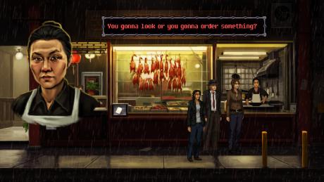 Unavowed: Screen zum Spiel.