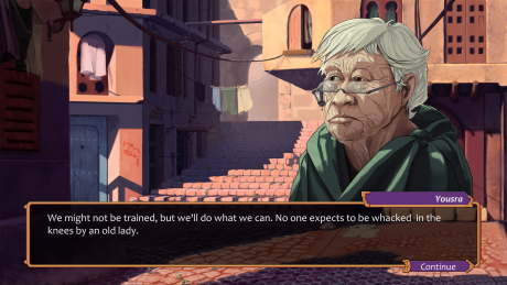 City of the Shroud: Screen zum Spiel.