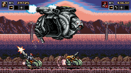 Blazing Chrome: Screen zum Spiel Blazing Chrome.
