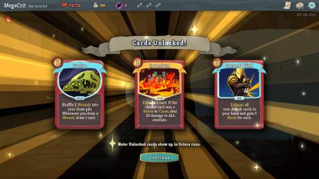 Slay the Spire: Screen zum Spiel.