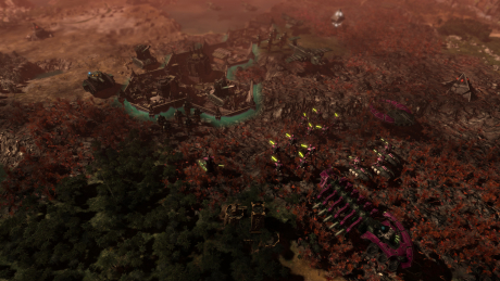 Warhammer 40,000: Gladius - Relics of War: Screen zum Spiel.