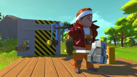 Scrap Mechanic: Screen zum Spiel.