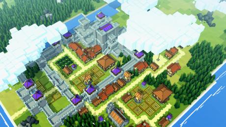 Kingdoms and Castles: Screen zum Spiel.