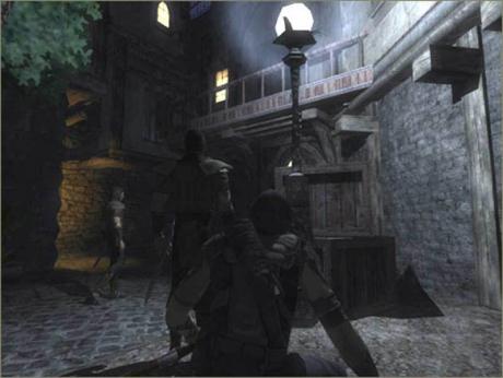 Thief: Deadly Shadows: Screen zum Spiel.