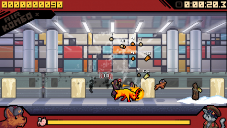 Russian Subway Dogs: Screen zum Spiel Russian Subway Dogs.