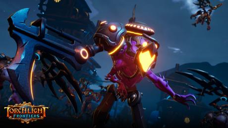 Torchlight Frontiers: Screen zum Spiel Torchlight Frontiers.