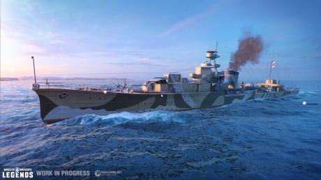 World of Warships: Legends - Closed-Beta-Wochenende gestartet