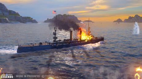 World of Warships: Legends - Trailer kündigt Konsolen-Version an
