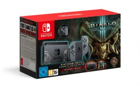 Diablo 3: Eternal Collection - Vorbestellungen für Bundle: Nintendo Switch inklusive Diablo III: Eternal Collection möglich