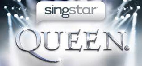 Logo for SingStar: Queen