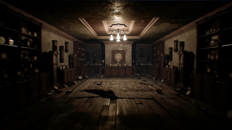The Conjuring House: Screen zum Spiel The Conjuring House.