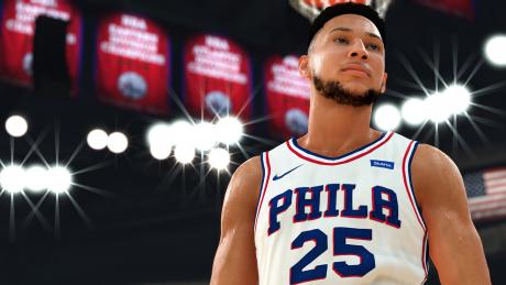 NBA 2K19: Screen zum Spiel NBA 2K19.