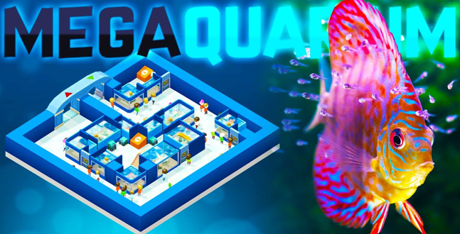PC  - Megaquarium im Test Wir versuchten uns in der neuen Aufbausimulation einmal als Pfleger und Züchter verschiedener Fischarten und berichten dir von den Eindrücken.