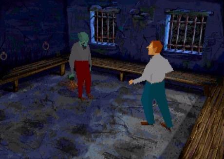 Alone in the Dark 3: Screen zum Spiel Alone in the Dark 3.