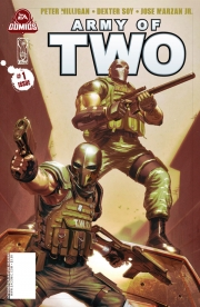 Army of Two: The 40th Day: Comic-Preview des in den USA erscheinenden Comic Book zu Army of Two: The 40th Day.