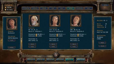 Age of Gladiators: Screen zum Spiel Age of Gladiators.