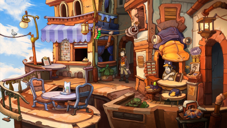 Chaos on Deponia: Screen zum Spiel Chaos on Deponia.