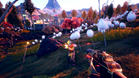 The Outer Worlds: Screen zum Spiel The Outer Worlds.