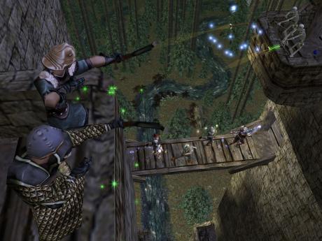 Dungeon Siege: Screen zum Spiel Dungeon Siege.