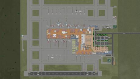 Airport CEO: Screen zum Spiel Airport CEO.