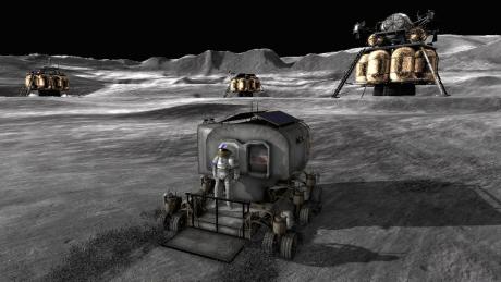 Moonbase Alpha: Screen zum Spiel Moonbase Alpha.