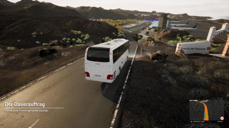 Tourist Bus Simulator: Screenshots aus dem Spiel