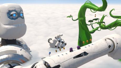 Astro Bot Rescue Mission: Screen zum Spiel  Astro Bot Rescue Mission.