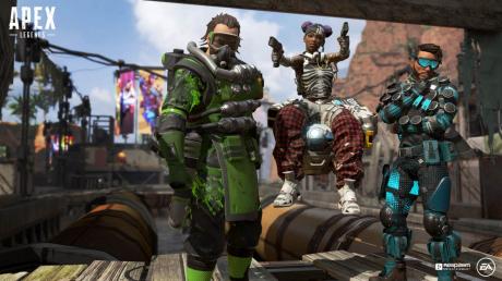 Apex Legends: Screen zum Spiel Apex Legends.