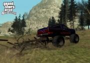 Grand Theft Auto: San Andreas: Düse mit einem kleinen Monstertruck durch die Gegend.