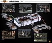 Max Payne 3: Bildmaterial zur Multiplayer-Map Hoboken Rooftops