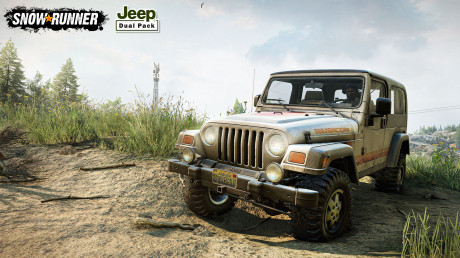 SnowRunner - SnowRunner bringt euch das härteste Gefährt der Welt - Jeep!