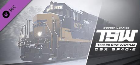 Train Sim World: CSX GP40-2 Loco Add-On - Train Sim World: CSX GP40-2 Loco Add-On