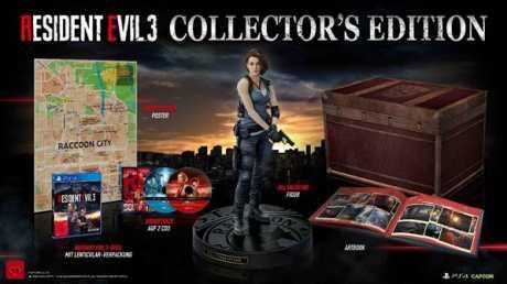 Resident Evil 3 Remake - Collectors Edition kann ab sofort vorbestellt werden