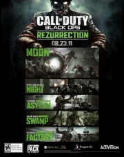 Call of Duty: Black Ops: Poster zum Zombie DLC Rezurrection